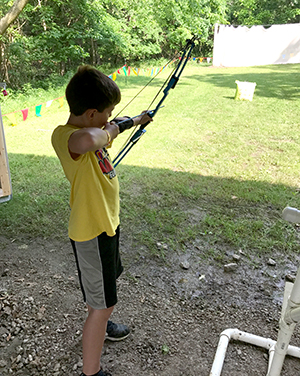 4-H youth archery