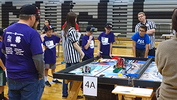 Comet Tech Club First Lego REgional Event