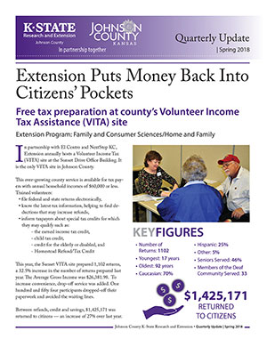 Graphic Extension Puts Money Back Into Citizens' Pockets