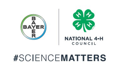 Bayer and National 4-H Council Science matters graphic