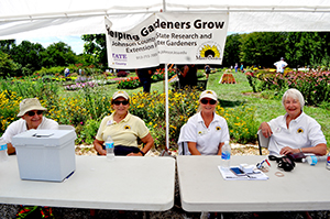 Extension Master Gardeners at K-State Field Day